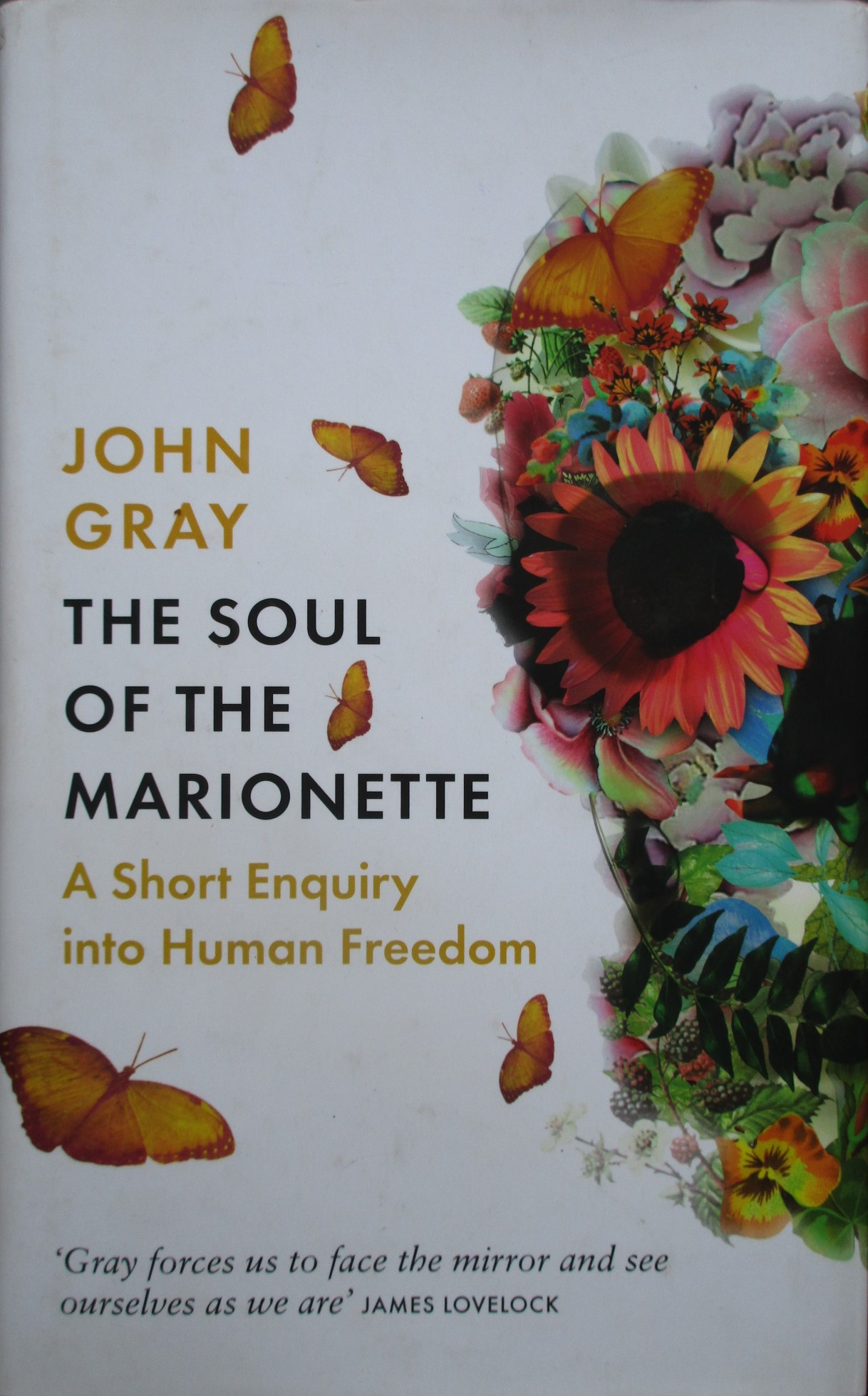 The Soul of the Marionette: A Short Enquiry into Human Freedom